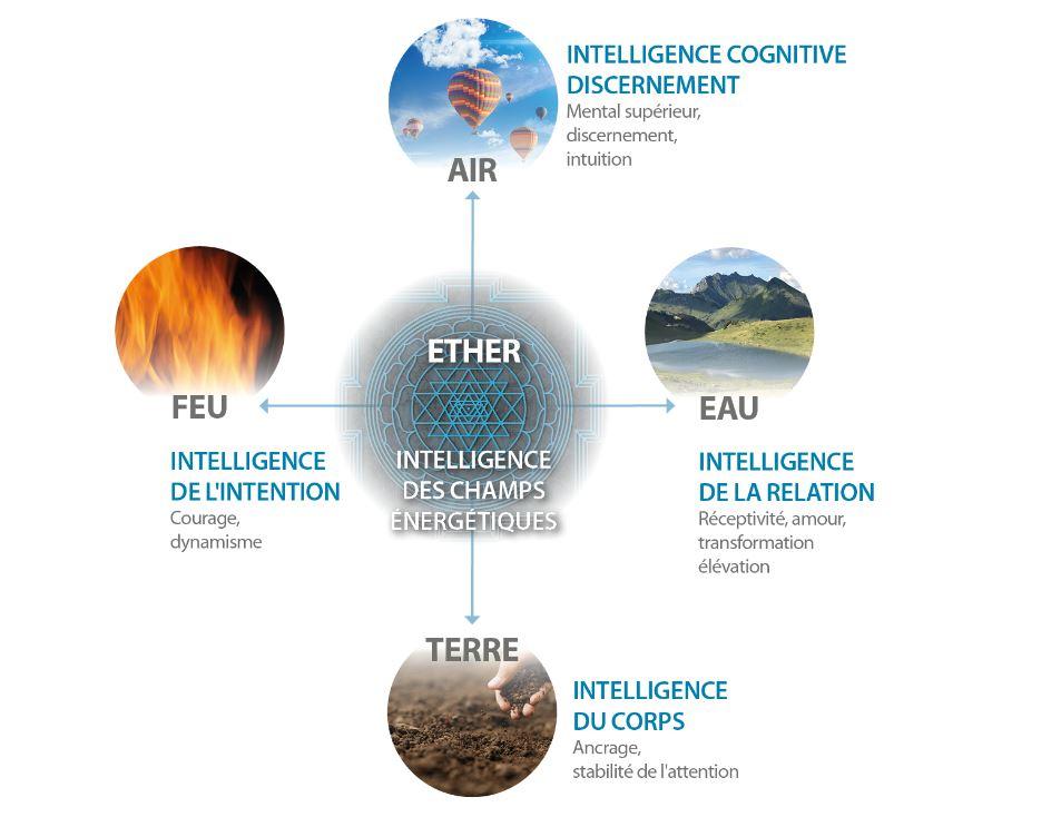 Eau Air Feu Terre - Pleine conscience intégrative